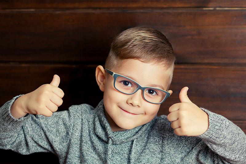 boy thumbs up